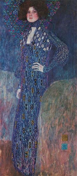 Women Muses Gustav Klimt Emilie Floege