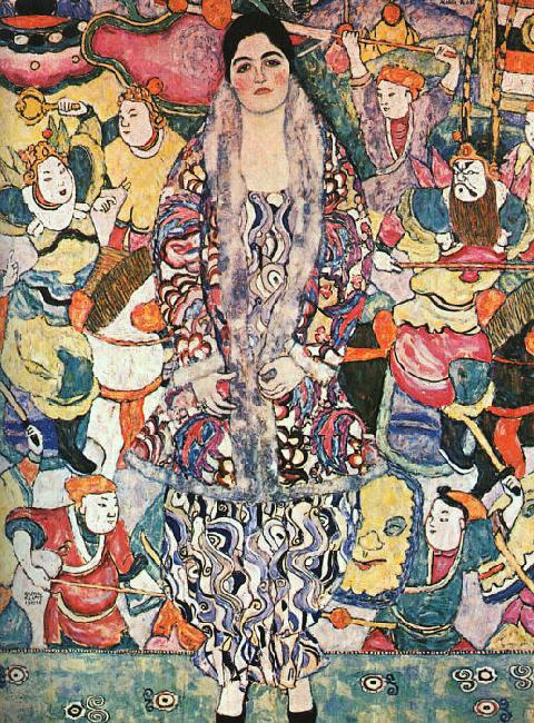 Women Muses Gustav Klimt Maria Beer