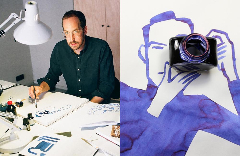 abstract art design Christoph Niemann