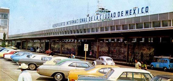 aeropuerto coches fotografias historicas ciudad de mexico