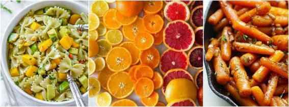 alimentos que mejoran la vista amarillo