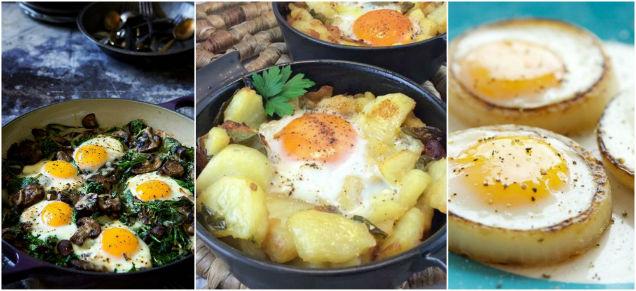 alimentos que mejoran la vista huevo