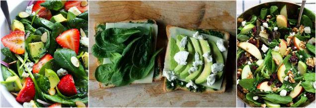 alimentos que mejoran la vista verde
