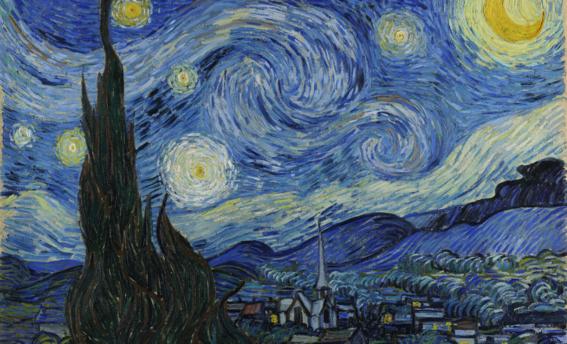 El análisis psicológico de la noche estrellada y sus oscuros ...