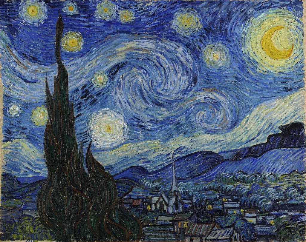 analisis psicologico de la noche estrellada vincent van gogh pintor