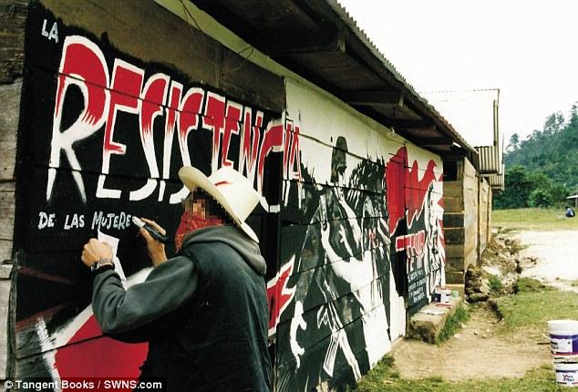 banksy en mexico chiapas resistencia