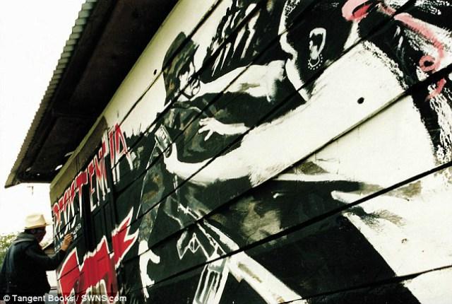 banksy en mexico   chiapas