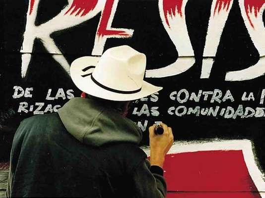 banksy en mexico en chiapas