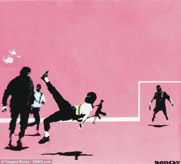 banksy en mexico rosa