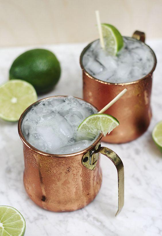 bebidas con vodka mula