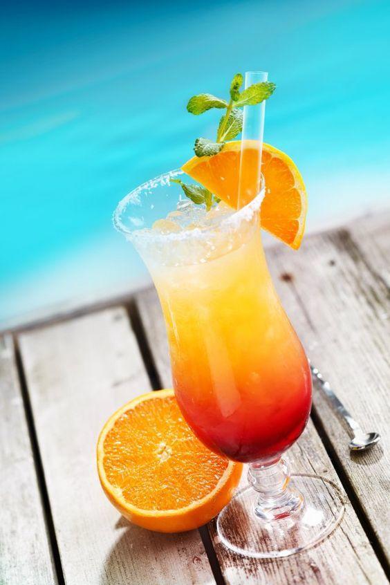 bebidas con vodka playa