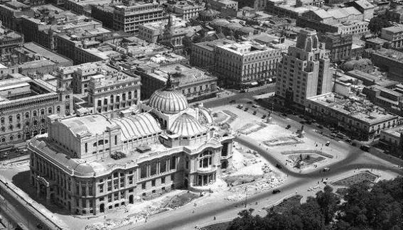 bellas artes fotografias historicas ciudad de mexico