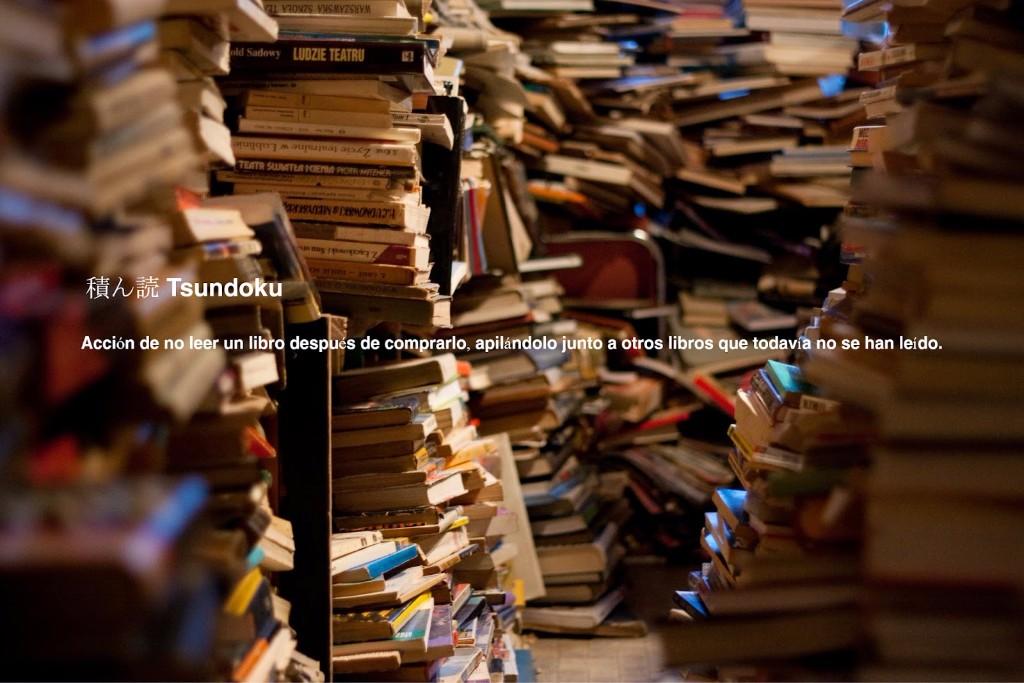 bibliomania tsundoku
