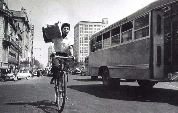 bici fotografias historicas ciudad de mexico