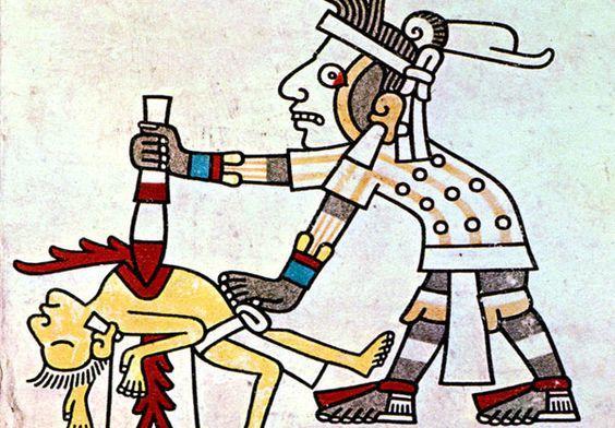 canibalismo humano azteca