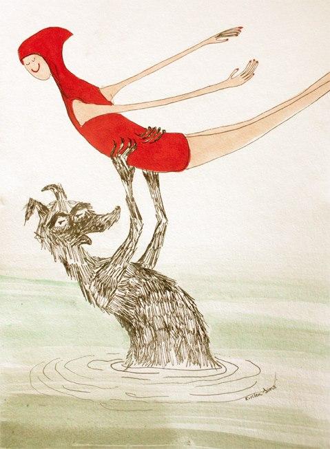 ilustraciones de Kristen Sims
