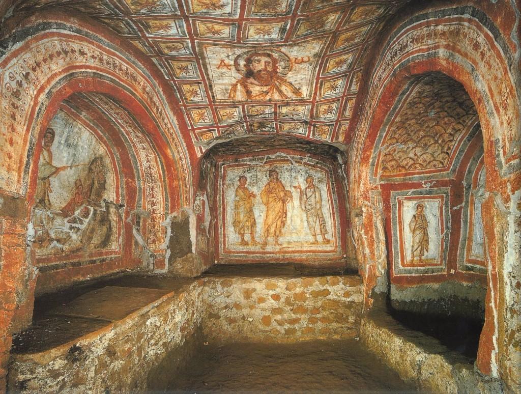 catacumbas la basilica