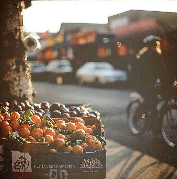 comer bien mientras viajas fruta