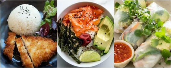 comida japonesa carne