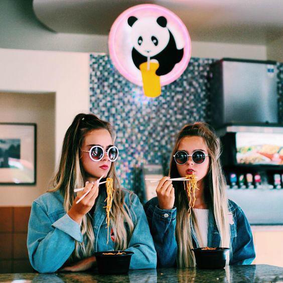 comida japonesa chicas