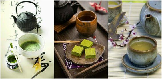 comida japonesa verde