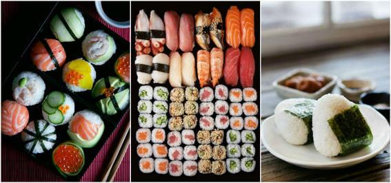 comida japonesa vinagre