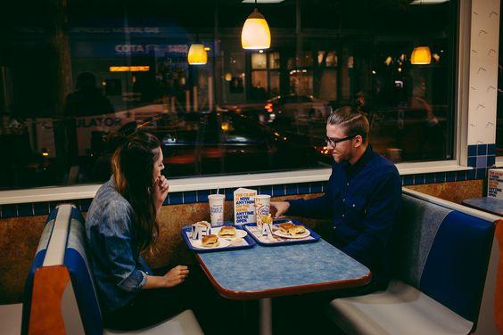 comida snob pareja
