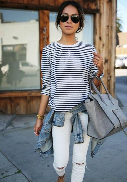 como usar jeans con estilo calle