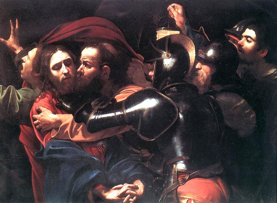 cristo pinturas de traicion