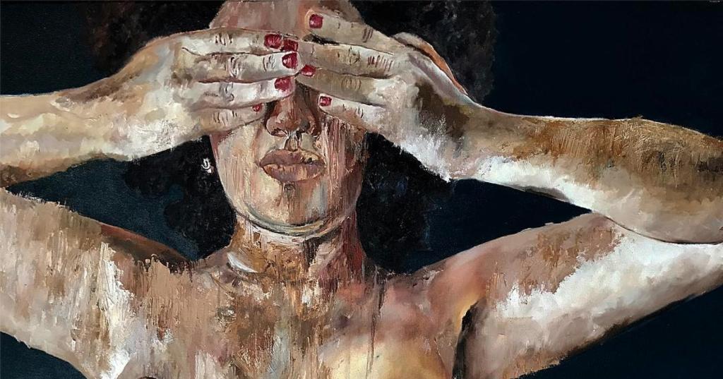 Pinturas eróticas que te harán sentir la oscuridad y miseria del deseo