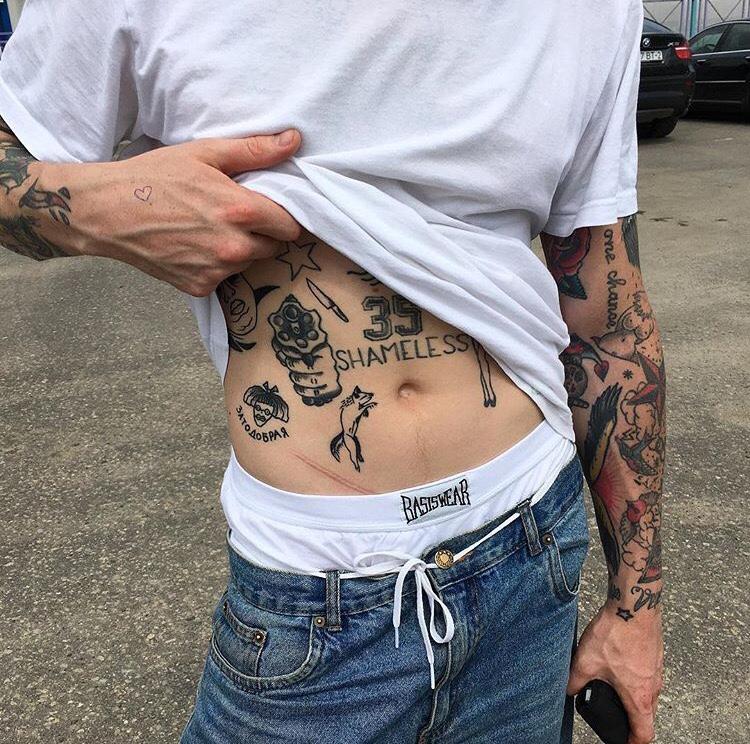 disenos tatuajes online playera