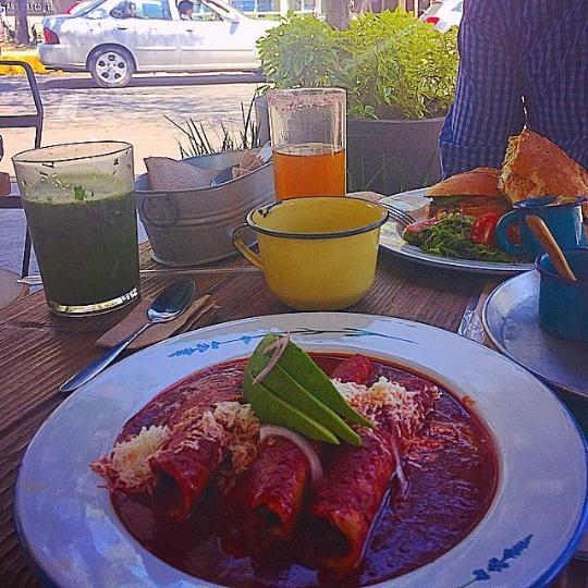 enchiladas cate de mi corazon restaurantes vegetarianos