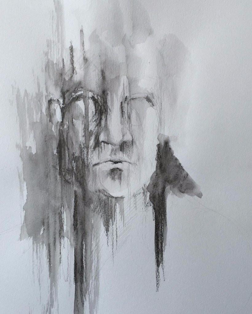 erotic paintings darkness misery desire merino sketch
