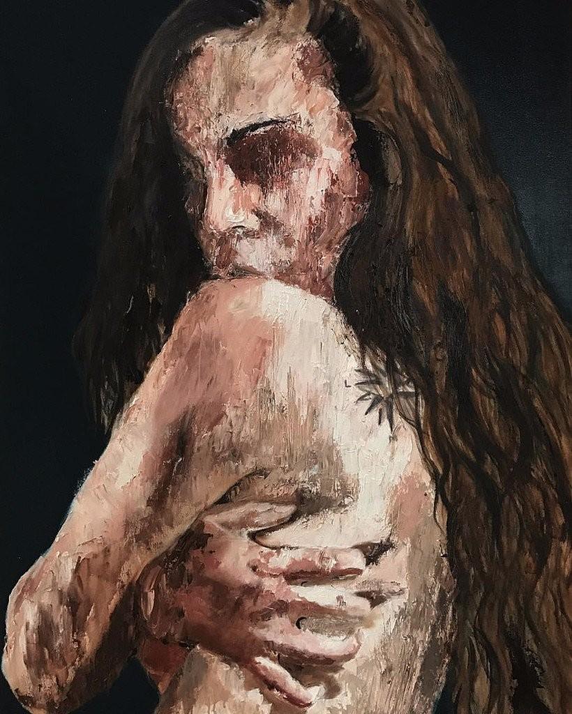 erotic paintings darkness misery desire merino tattoo
