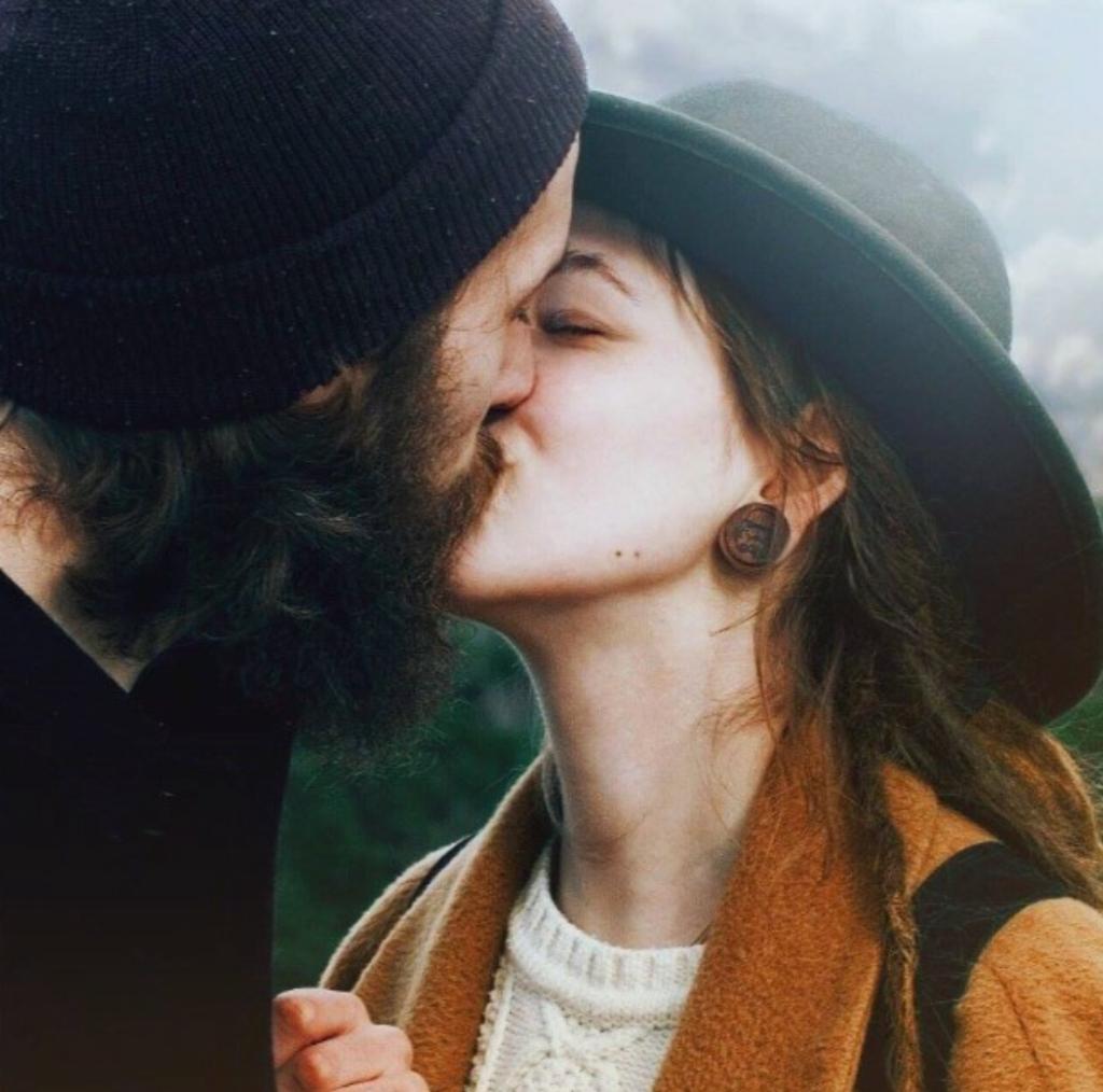 extranar a tu ex beso
