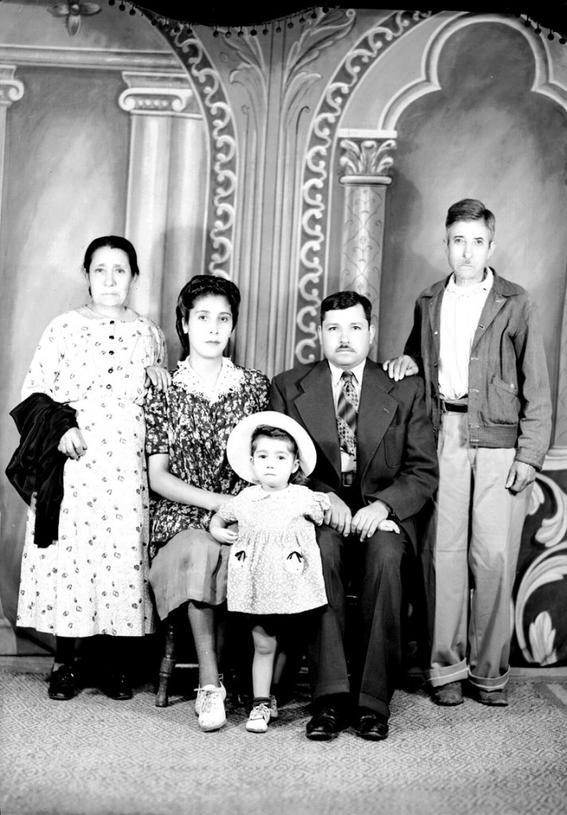 familia fotografias historicas ciudad de mexico