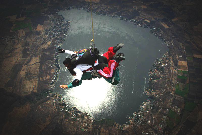 hacer paracaidismo en mexico