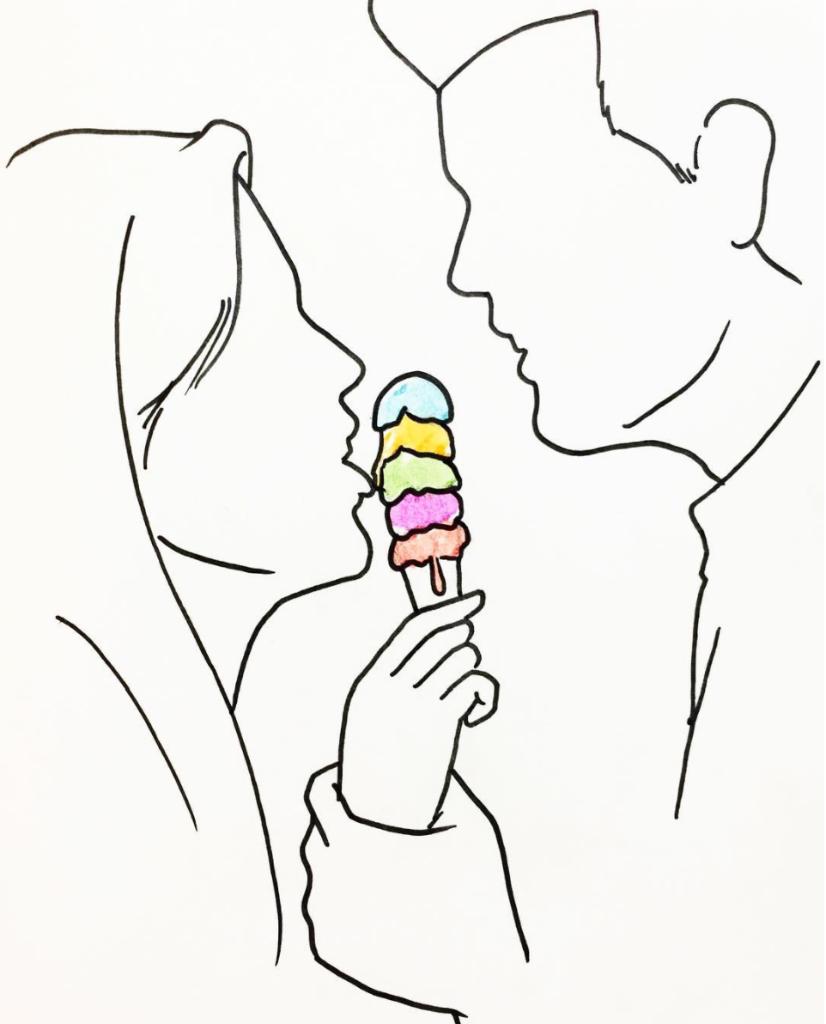 helado como amar