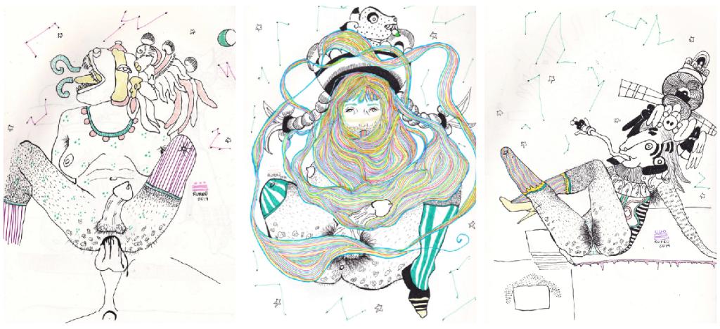 ilustraciones prehispanicas rurru mipanochia