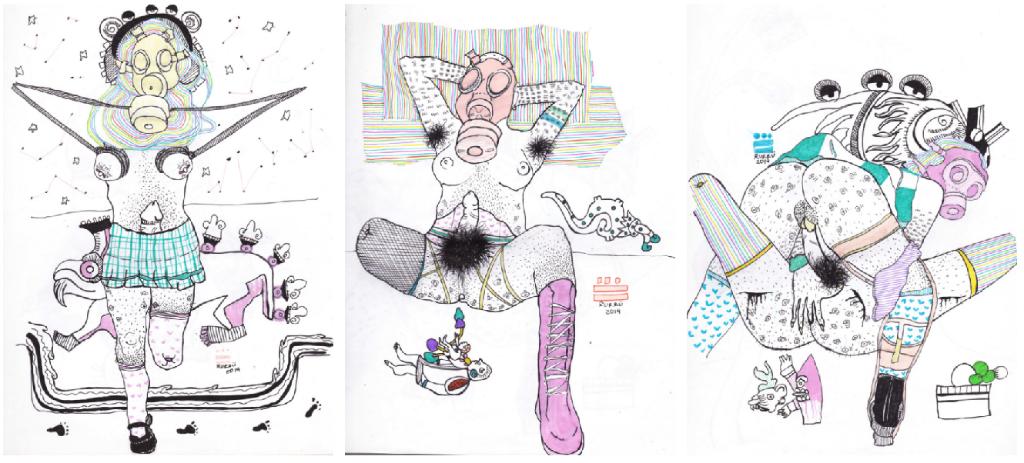 ilustraciones prehispanicas sexualidad