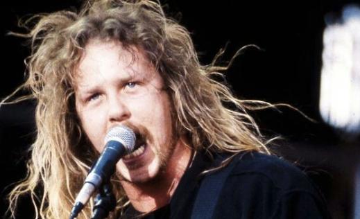 James Hetfield, el hombre que creó la banda más popular de Thrash Metal