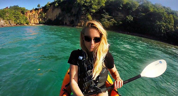 kayak recorrer el mundo