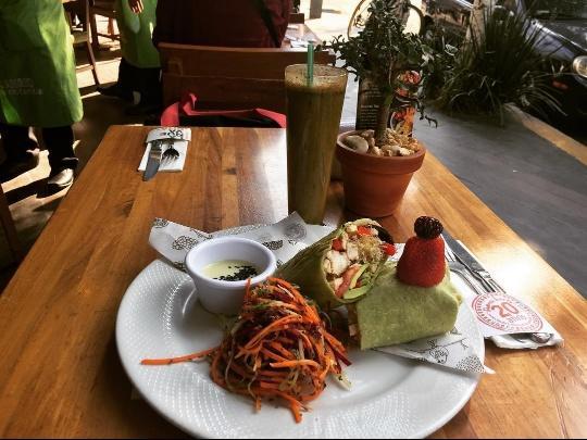 la buena tierra restaurantes vegetarianos