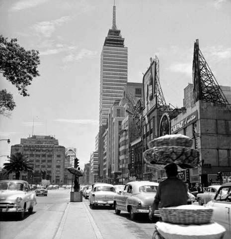latino fotografias historicas ciudad de mexico