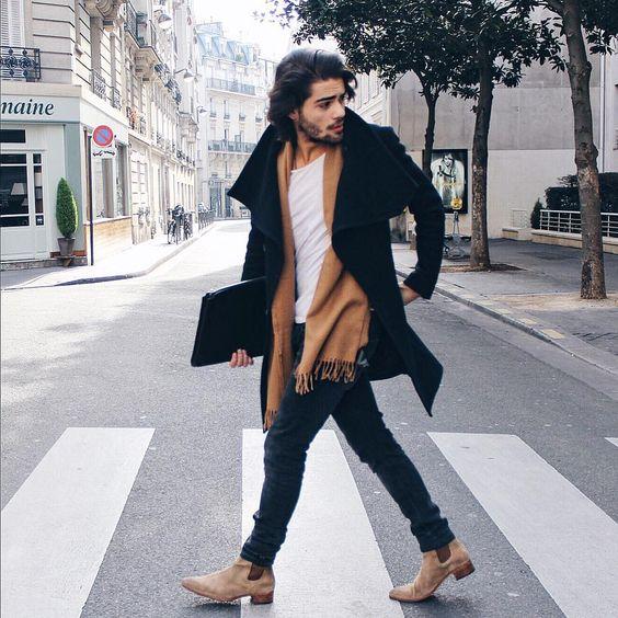 lograr que tu look no se vea barato bufanda