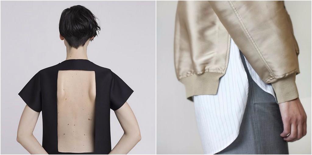 look minimalista telas