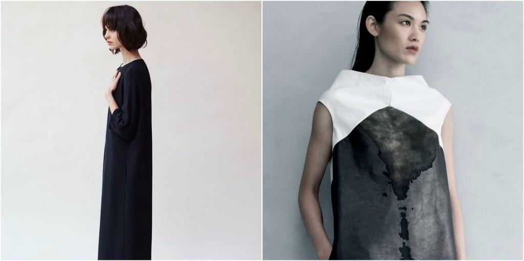 look minimalista vestidos