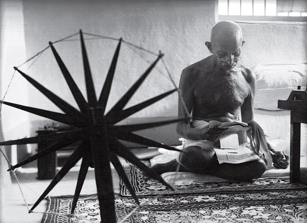 mejores fotografias de la historia ghandi