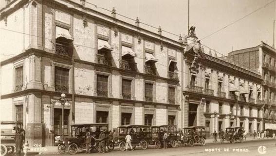 monte de piedad fotografias historicas ciudad de mexico