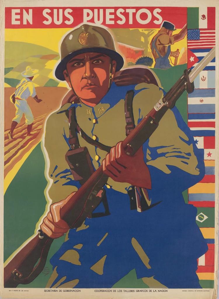 propaganda antinazi mexicana